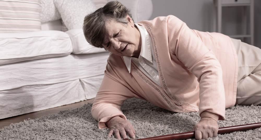 Падение пожилого с кровати