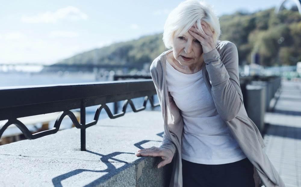 Головокружение при анемии у пожилых