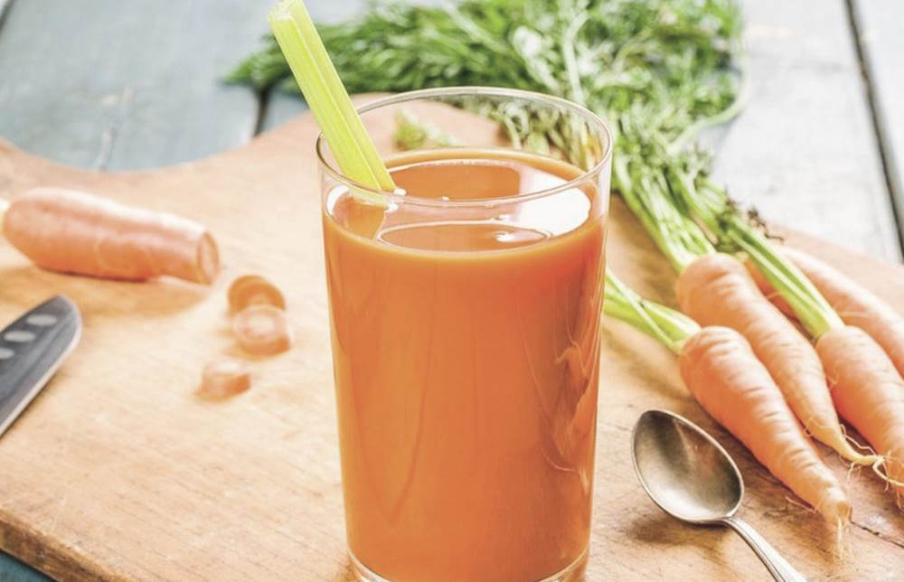 Морковный сок при анемии для пожилых людей