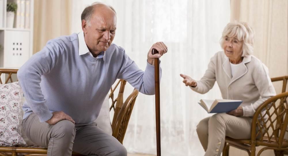 Пожилые люди и риск падения