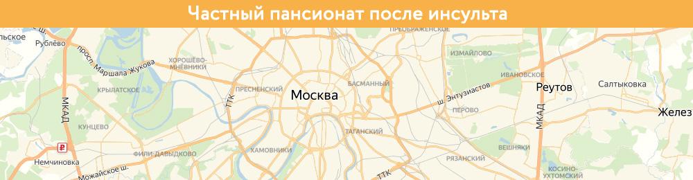 Частный пансионат после инсульта | На Яндекс.Картах